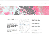 Blume Website Design - Squarespace