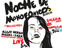 Vector Illustration for Monofónicos Netlabel