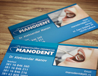 Business card design for Dentist