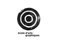 Identité écoles d'arts graphiques
