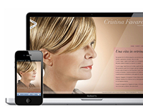 Cristina Favaretto, Visual Merchandiser website