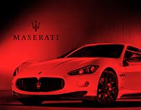 Maserati Gran Turismo Interior Concept
