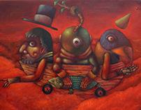 Paintings / Travesías Serie