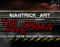 The Urban Movie - Web Design Layout