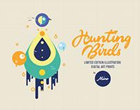 Hunting Birds / Digital Art Prints