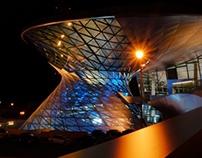 BMW Welt At Night - BMW Welt bei Nacht