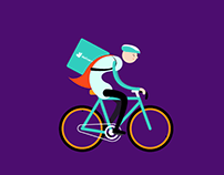 Deliveroo Delight Animations