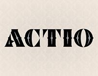 Actio font