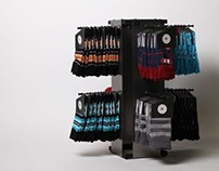 RICHER POORER SOCK DISPLAY
