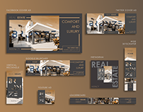 REAL ESTATE AGENCY ADVERTISEMENT TEMPLATE