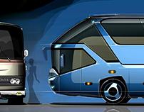 MAN - Neoplan Bus sketches & renderings