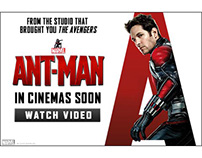 Ant-Man International Banners - A Design