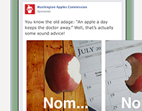 Carousel Facebook Ad - Washington Apples