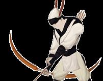 hero character animation