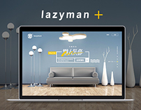 Lazyman Decoration Website Design