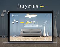 Lazyman Decoration Website Design