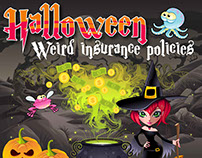 Halloween insurance policies -INFOGRAPHIC
