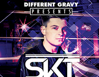 Different Gravy / DJ SKT Poster - Box Nightclub