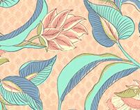 Tropical-hindu prints