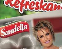 Campanha Ana Maria Braga - Sandella e Refreskant
