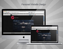 Personal Website Design
