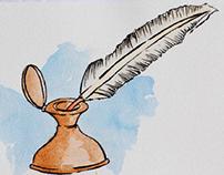 El Nombre de la Rosa - Umberto Eco (Illustrations)