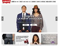 Levi's LATAM - Website Revamp