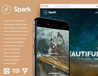 Spark WordPress Theme - Responsive Multi-Purpose