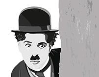 Charli Chaplin - THE KID Poster