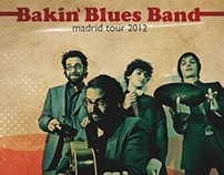 Bakin Blues Band Madrid Tour 2012