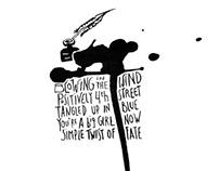 Bob Dylan Ink series