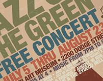 Jazz on the Green Poster & Billboard