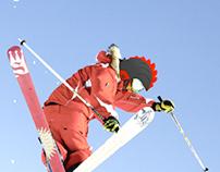 Progettazione, 3D e render di un casco da sci