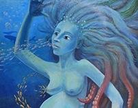 Mermaid - sea goddess