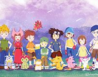 Digimon Adventure Fanart