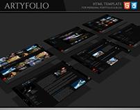 ArtyFolio HTML Template