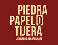 Poster alternativo película ¨Piedra, Papel o Tijera¨