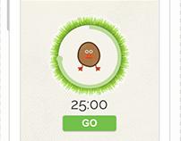 GoTato app UI/UX design