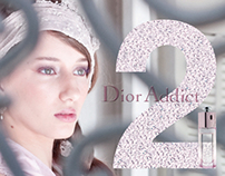 Perfume Advertising: Dior Addict 2. Fictional ad.