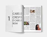 Diagramação de revista | Faculdade