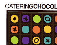 Catering, Chocolate Identity: BoldShapes