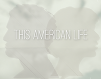 This American Life Vintage Poster