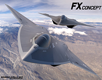 FX sixth-generation concept fighter aircraft