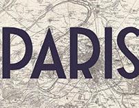 Paris: Hand Lettering