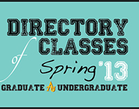 Directory of Classes