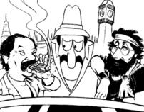 Cheech Marin Cartoons