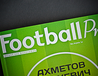 FootballPro magazine spreads