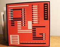 2013 Josef Albers Calendar