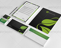 Green Leaf Corporate Identity