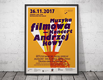 """Film music in concert"" - poster"